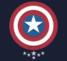 Captain America Stars - V.02 T-Shirt