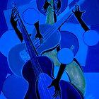 symphony in blue by helene ruiz