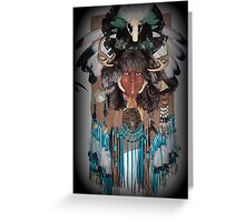 Woman warrior Greeting Card