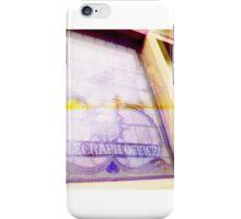 Telegraph Office iPhone Case/Skin