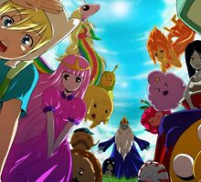 Adventure Time - Anime Style by MindxCrush
