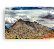Mount Cristo Rey Canvas Print