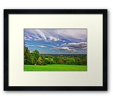 Beautiful English Countryside #2, Redhill, England Framed Print