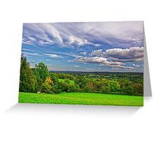 Beautiful English Countryside #2, Redhill, England Greeting Card