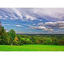Beautiful English Countryside #2, Redhill, England Photographic Print