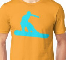 snowboard silhouettes Unisex T-Shirt