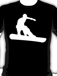 snowboard : silhouettes T-Shirt
