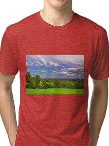 Beautiful English Countryside #2, Redhill, England Tri-blend T-Shirt