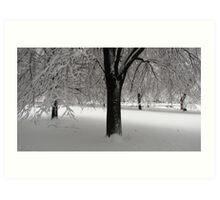 Snow! Art Print