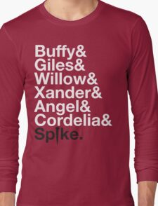 BUFFY THE VAMPIRE SLAYER AND SCOOBY GANG Long Sleeve T-Shirt