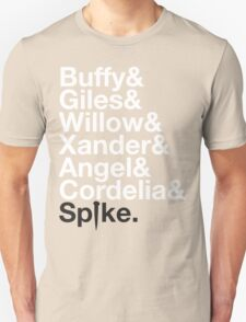 BUFFY THE VAMPIRE SLAYER AND SCOOBY GANG T-Shirt