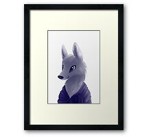 Glistening Eyes Framed Print