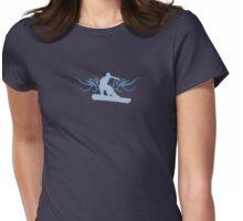 snowboard : tribalz Womens Fitted T-Shirt