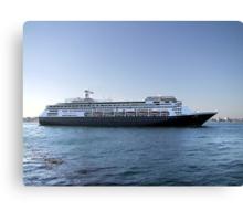 Amsterdam, Cruise Liner Canvas Print