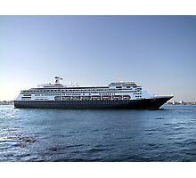 Amsterdam, Cruise Liner Photographic Print