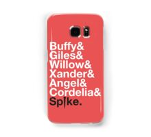 BUFFY THE VAMPIRE SLAYER AND SCOOBY GANG Samsung Galaxy Case/Skin