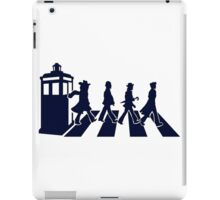 Tardis Road - Blue iPad Case/Skin
