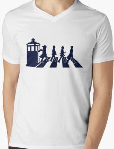 Tardis Road - Blue T-Shirt