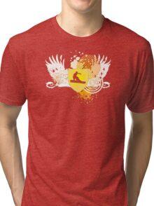 snowboard : hi-fi Tri-blend T-Shirt