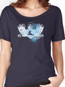 snowboard : hi-fi Women's Relaxed Fit T-Shirt