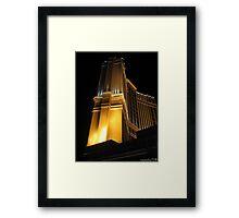 Palazzo(Las Vegas) Framed Print