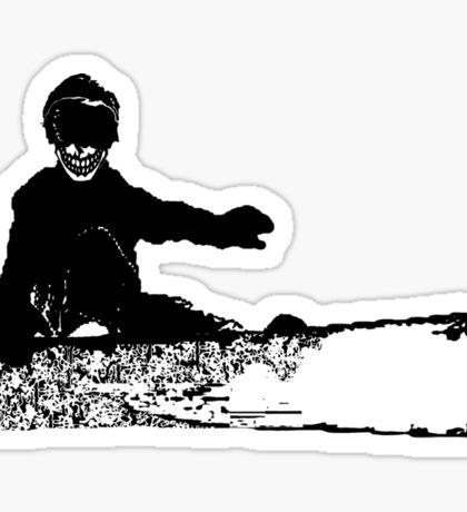 skeleboarder Sticker