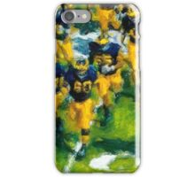 Charge the Fifty Yard Line. iPhone Case/Skin