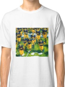 Charge the Fifty Yard Line. Classic T-Shirt