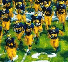 Charge the Fifty Yard Line. by John Farr