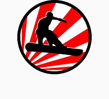 snowboard : red rays Unisex T-Shirt