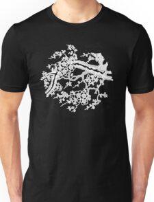cherry blossom white Unisex T-Shirt