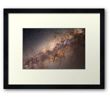 The Milky Way Galaxy Framed Print