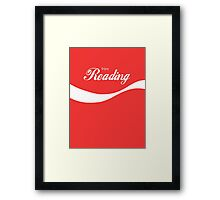 Enjoy Reading Framed Print