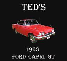 1963 Ford Capri GT Mens V-Neck T-Shirt