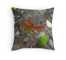 """Trickle"" Throw Pillow"