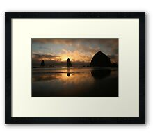 Creation At Twilight Framed Print