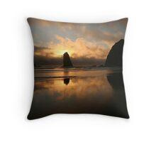 Creation At Twilight Throw Pillow