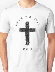Fear No Evil - Cross (Black) T-Shirt