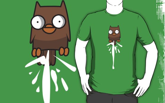 Castle Crashers Owl Pooping by wetwired