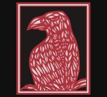 Setter Eagle Hawk Red White Black T-Shirt