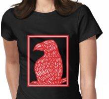 Setter Eagle Hawk Red White Black Womens Fitted T-Shirt