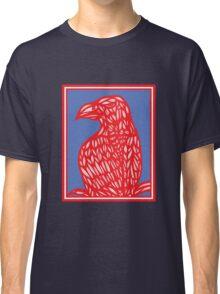 Sneathen Eagle Hawk Red Blue Classic T-Shirt