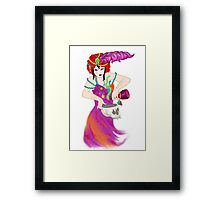 Demon Rum Framed Print