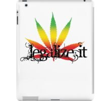 Legalize It 1 iPad Case/Skin