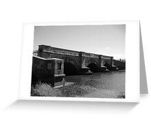 Bridge at Ross, Tasmania Greeting Card