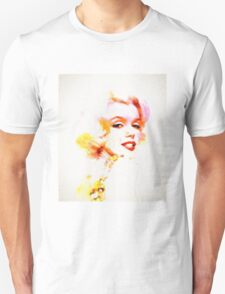 Marilyn The Pink Sketch T-Shirt