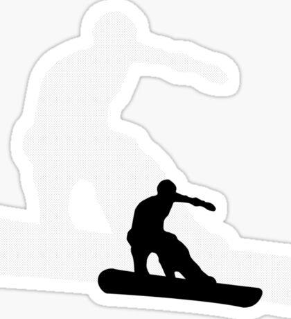 snowboard : shadowstance Sticker
