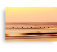 Sunrise at Merewether Baths Canvas Print