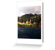 Na Pali Coastline V Greeting Card