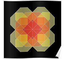 16 Octagons (128 sides) • 2015 Poster